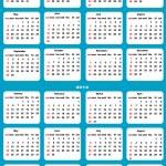 Calendar 2013,2014 — Stock Vector #30845703