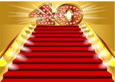 40 years anniversary — Stock Vector