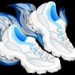Running shoes — Stock Vector #39047691
