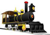 Locomotive — Stock Vector