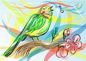 Songbird — Stock Vector