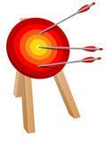 Objetivo de flecha — Vector de stock
