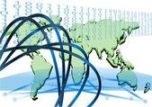 Interconnected — Stock Vector