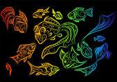 Tropical fish 2 — Wektor stockowy