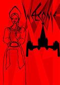 Welcome — Vector de stock
