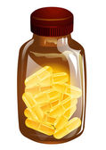 Vitamine d — Stockvector