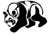 Panda velká — Stock vektor