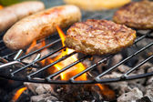 Barbecue Food — Stock Photo