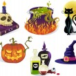 Halloween Icons — Stock Vector #27317313