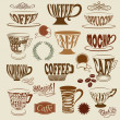 Coffee Shop Icons and Symbols — Stock Vector
