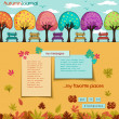 Autumn Journal — Stock Vector #51253205