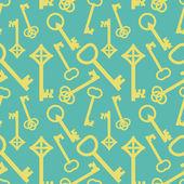 Keys pattern — Stock Vector