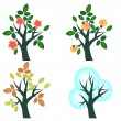 Trees set — Stock Vector #12454219