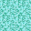 Blue flower pattern — Foto de stock #14294273