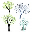 Trees set — Stock Vector #14293733