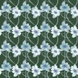 Stock Photo: Flowers pattern