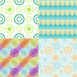 Geometric patterns - Image vectorielle