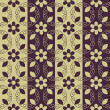 Ornamental pattern - Stock vektor