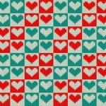 Knit pattern — Stock Vector #27137969