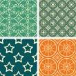 Patterns set — Stock Vector #27233513