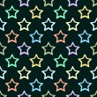 Stars pattern — Stock Vector