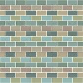 Bricks pattern — Stock Vector