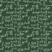 Formulas pattern — Stock Vector
