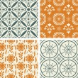 Patterns set — Stock Vector #28737377