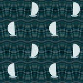 Sea illustration — Stock Vector