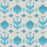 Knit pattern — Stock Vector #32630895