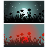 Two banners — Stock Vector