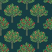 Modèle des arbres — Vecteur