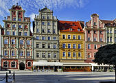 Old houses in Wroclaw — Stockfoto