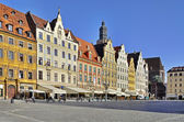 Rynek (Market Square) in Wroclaw, Poland — Stock Photo