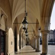 Stock Photo: Arcades of Sukiennice in Krakow, Poland