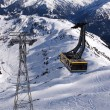 Cable Car in Alps — Stock Photo #13899627