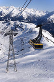 Cable Car in Alps — Stock Photo