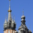 Spires of church towers — Stock Photo #14158347