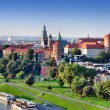 Wawel Castle in Krakow, Poland — Stock Photo #23117710