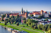 Wawel Castle in Krakow, Poland — Stock Photo