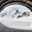 Ski tunnel — Stock Photo #24106587