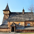 Old Wooden Church in Debno, Poland - Stock Photo