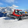 Snow Groomer in Alps — Stock Photo #30450895