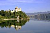 Medieval Castle in Niedzica, Poland — Stock Photo