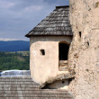 Stock Photo: Corner tower of NiedzicCastle, Poland