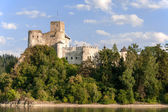 Medieval Castle in Niedzica, Poland — Stock Photo
