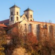 Benedictine abbey in Tyniec, Krakow, Poland — Stock Photo