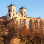 Benedictine abbey in Tyniec, Krakow, Poland — Stock Photo #34905103