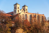 Benedictine abbey in Tyniec, Krakow, Poland — Foto Stock