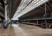 Platform at Paddington Station, London — Stock Photo